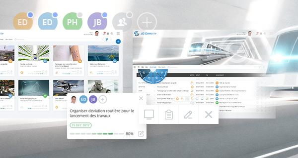 logiciel gestion de projet collaboratif PPM