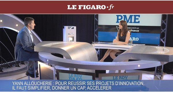 Le Figaro - Interview z0 Gravity : La clé pour réussir ses projets d'innovation